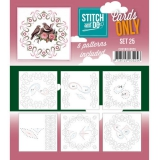 COSTDO10025 Stitch & Do Card Only Set 25