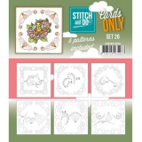 COSTDO10026 Stitch & Do Card Only Set 26