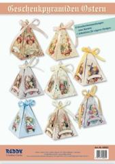 84822 Geschenkpyramiden Ostern