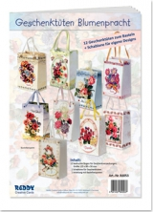 84053 Geschenktüten Blumenpracht