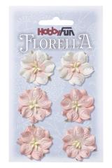3866051 Florella Blumen aus Moerbijpapier 3,5 cm  Vaalrose