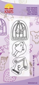 180013-0501 Clear Stamps Birds home