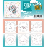 COSTDO10027 Stitch & Do Card Only Set 27