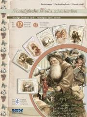 89056 Bastelmappe Nostalgische Weihnachtskarten
