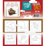 COSTDO10034 Stitch & Do Card Only Set 34