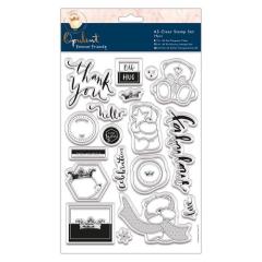 FFS 907136 A5 Clear Stamp Set 19 teilig Forever Friends Opulent