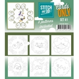 COSTDO10041 Stitch & Do Card Only Set 41