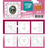 COSTDO10042 Stitch & Do Card Only Set 42
