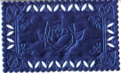 1229 Satindeckchen blau