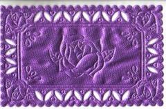 1224 Satindeckchen lila