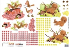 2006-02 3D Bogen Eichhörnchen