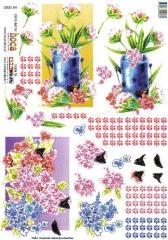 2006-04 3D Bogen Blumen in der Kanne