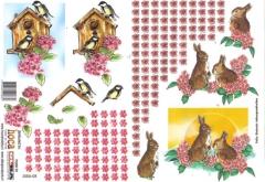 2006-08 3D Bogen Hase