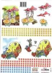 2006-10 3D Bogen Maus im Käse