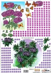 2007-14 3D Bogen Blumen