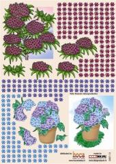 2007-13 3 D Bogen Blumen