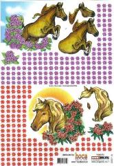2007-15 3D Bogen Pferde