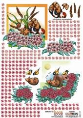 2007-17 3D Bogen Maus und Maulwurf