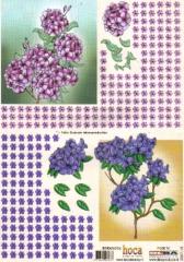 2007-18 3D Bogen Blumen