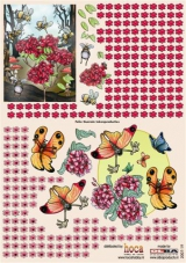 2007-19 3 D Bogen Schmetterlinge