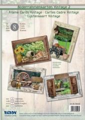 85028 Bilderrahmenkarten Vintage 2