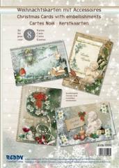 85048 Weihnachtskarten mit Accessoires