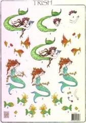 117145-6001 Trish 3 D Bogen von Nellie Snellen
