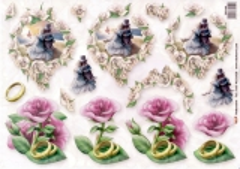 202109 Hochzeitspaar und Rosen