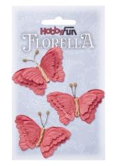 3866097 Florella Schmetterlinge aus Maulbeerpapier ca. 6 cm hortensia