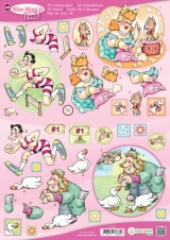 9.0167 Miss Mimi & friends Schneidebogen