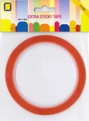 3.3183   Extra Sticky Tape  Extra stark klebendes doppelseitiges Klabeband  10 m x 3 mm