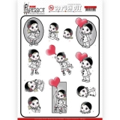 SB10432 3D Pushout - Yvonne Creations - Petit Pierrot - With Love