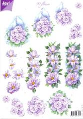 6010-0021 Schneidebogen weiße Tauben und Rosen