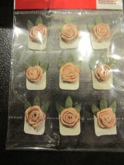9 Rosen lachs