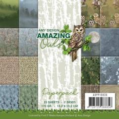 ADPP10035 AD Papierpack Amazing Owls