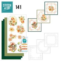 STDO141 Stitch & Do 141  Salmon Christmas Baubles