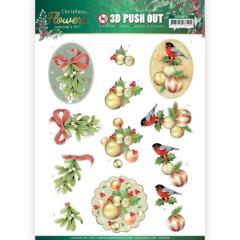 SB10478 JA Stanzbogen Christmas Flowers - Mistle Toe
