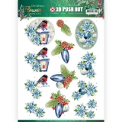 SB10480 JA Stanzbogen Christmas Flowers - Christmas Lantern