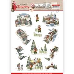 SB10482 AD Nostalgic Christmas - Christmas Village
