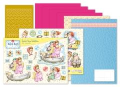 9.0095 MRJ Set Bill & Betty A5 Set für 3 komplette Karten