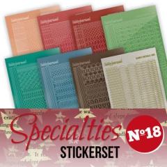SPECSTS018 Stickerset zu Specialties 18