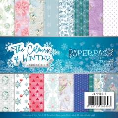 JAPP10017 JA Papierpack The Colours of Winter