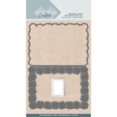 CDCD10009 Card Deco Essentials - Stanzschablone - Snowflakes A5
