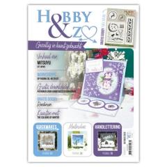 HENZO009 Hobby&Zo 9 mit Stempel, Prägeschablone und Stanzschablone