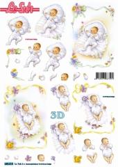 680018 Stanzbogen Geburt