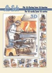 345611 3D Motivbuch A5 Berufe
