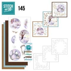 STDO145 Stitch & Do 145 JA Winter Landscape