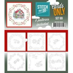 COSTDO10069 Stitch & Do Cards Only Set 69
