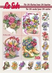 345615 3D Buch Mini Blumen