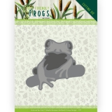 ADD10230 AD Stanzschablone  Friendly Frogs - Tree frog